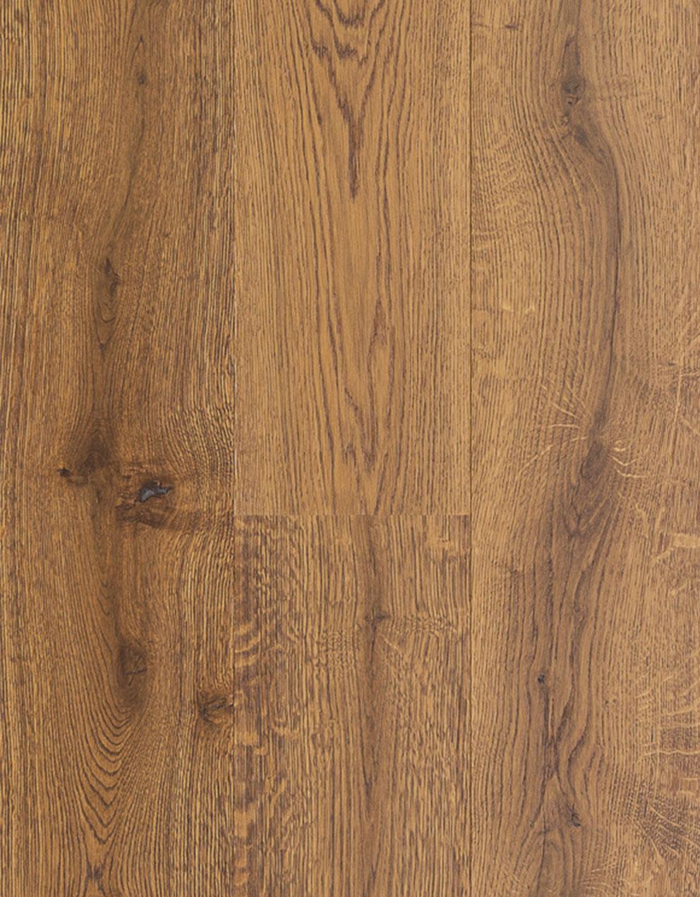 Suelo de madera Roble marrón dorado